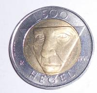 San Marino 500 Lira 1996