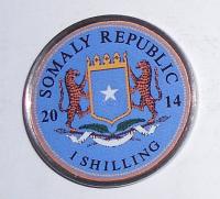 Somálsko 1 Schilling 2014