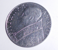 Vatikán 100 Lira 1955