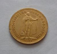 10 Koruna, 1893, KB Uhry