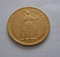 10 Koruna, 1894, KB Uhry