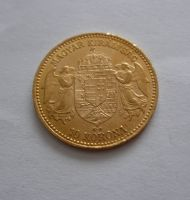 10 Koruna, 1898, KB Uhry