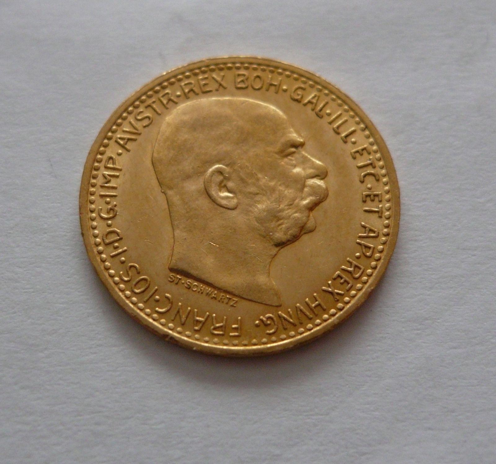 10 Koruna, 1911, bz