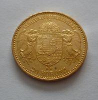 20 Koruna, 1895 KB Uhry
