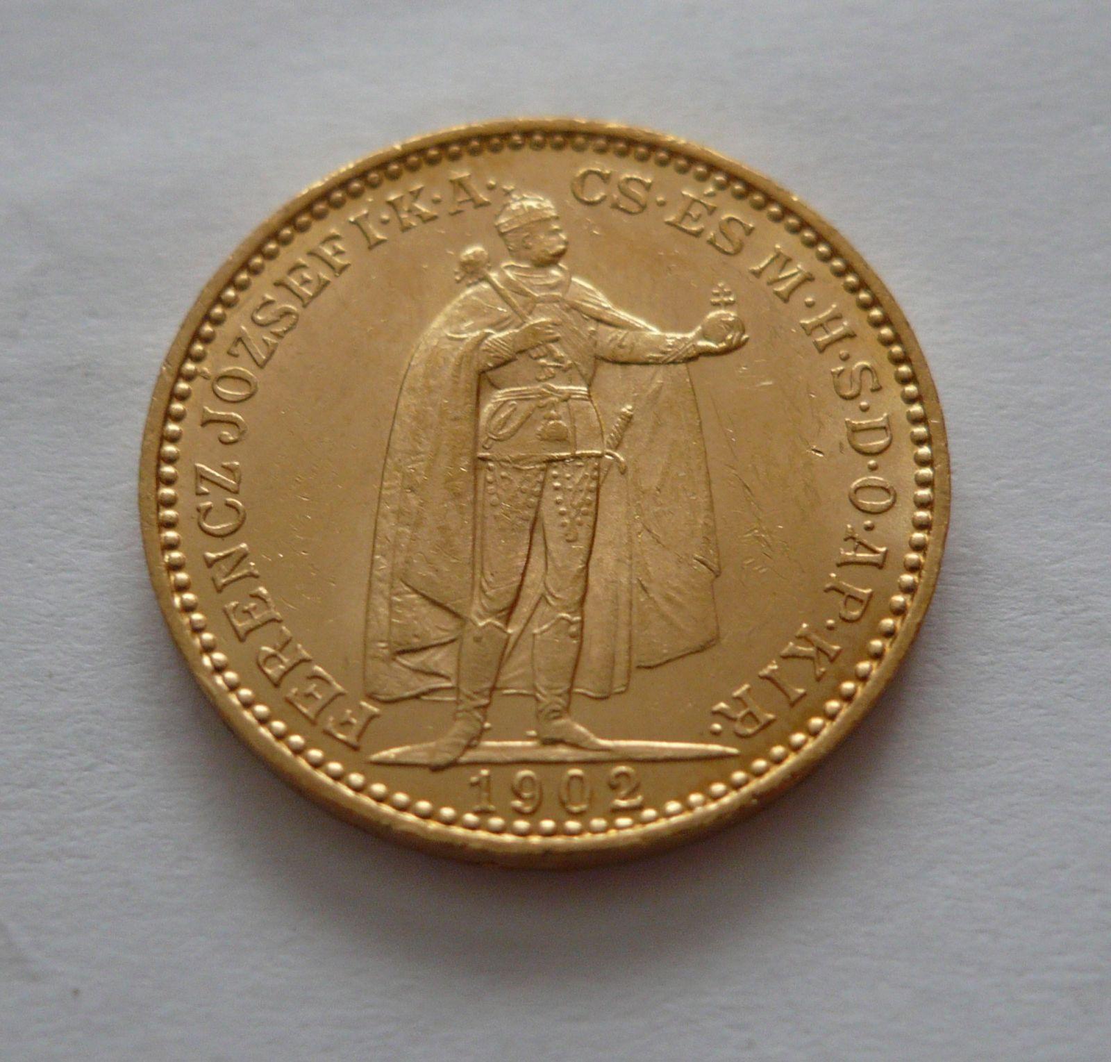 20 Koruna, 1902 KB Uhry