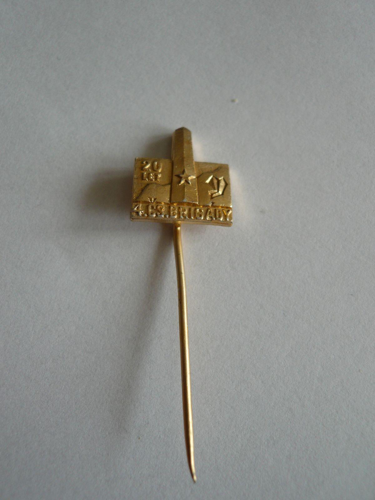 20 let čs. brigády ČSR