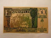 50 Heller, 1920, nouzovka, Rakousko