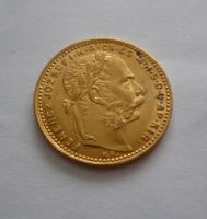 8 Zlatník/Gulden(1883-ražba KB, Au 900, 6,45g)