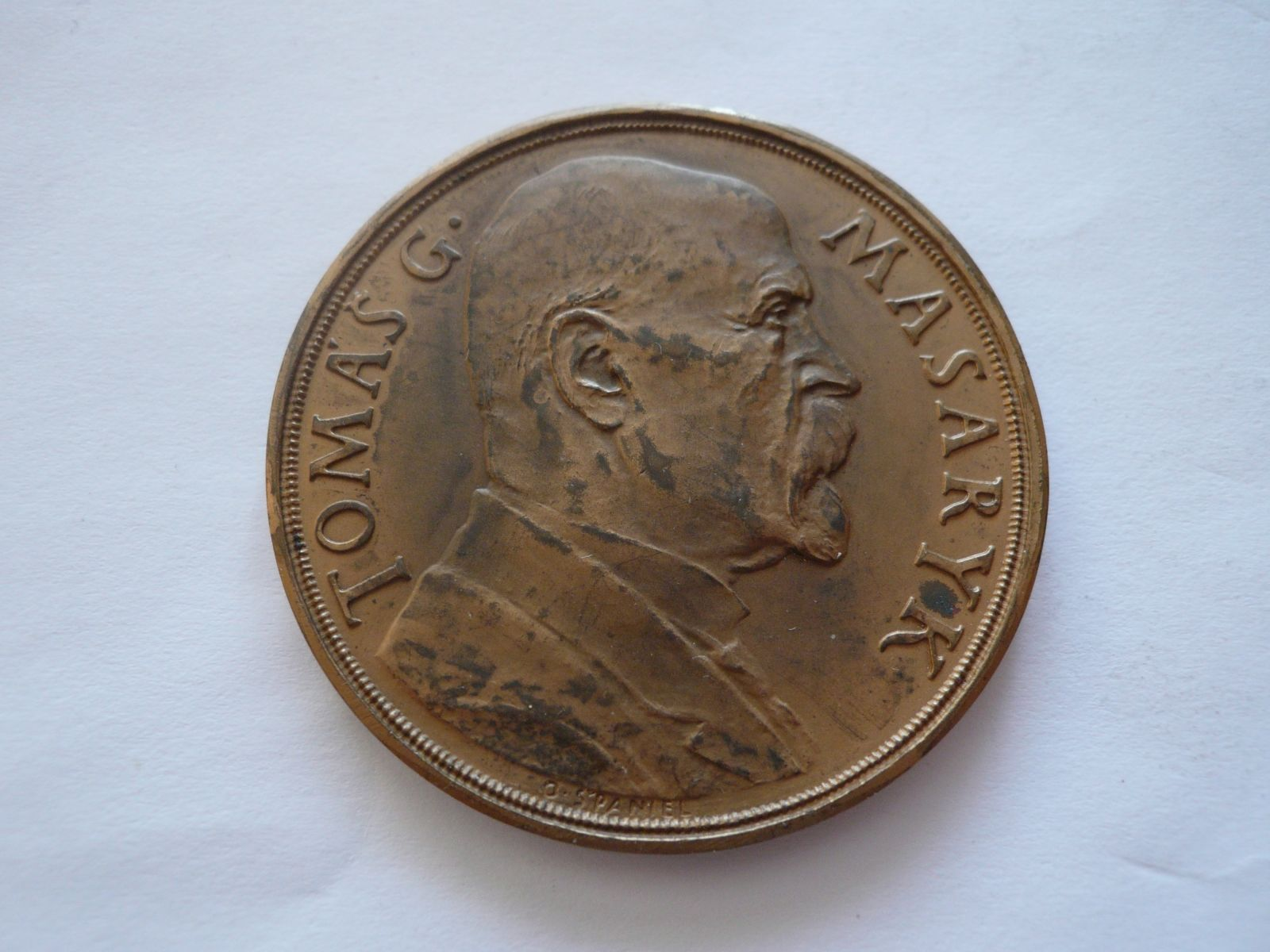 85 narozeniny TGM 1935 ?50 ČSR