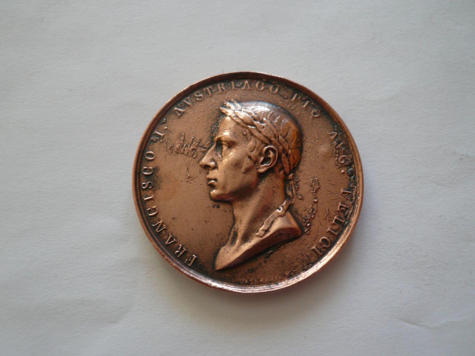 František II. Příjezd, Cu měď, pozdější ražba, 1815, Rakousko