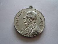 František Palacký 100 narození, Alu průměr 35mm, 1898 Čechy