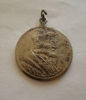 Jan Hus postříbřená medaile, ČSR
