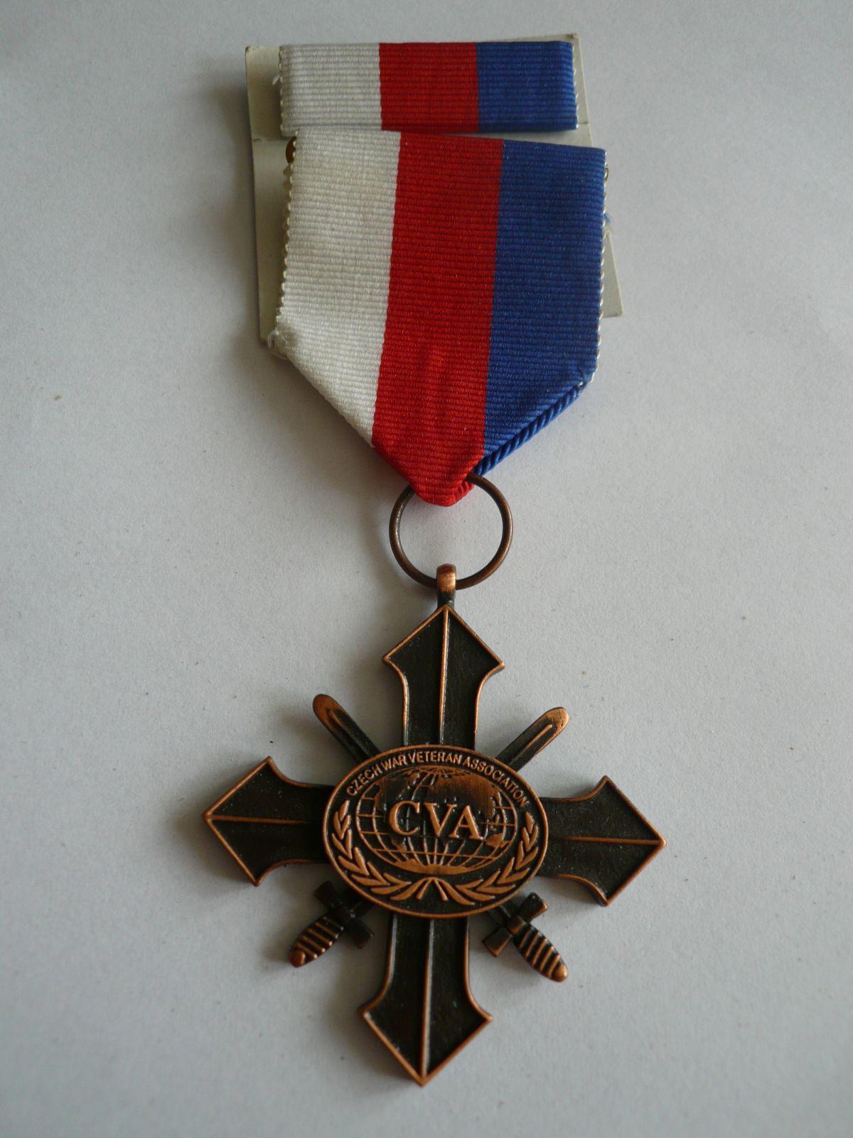 Kříž válečných veteránů bronzového stupně ČSR