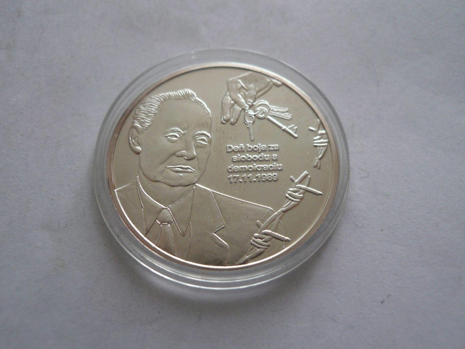 medaile Alexander Dubček, Ag, Historické momenty, ČSR