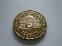 medaile na vstup do EU, zlacený bronz, průměr 40mm, Slovensko