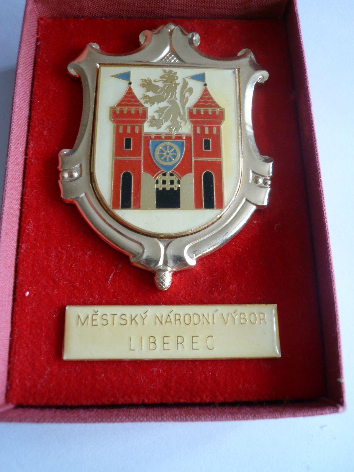 Městský národní výbor Liberec ČSSR