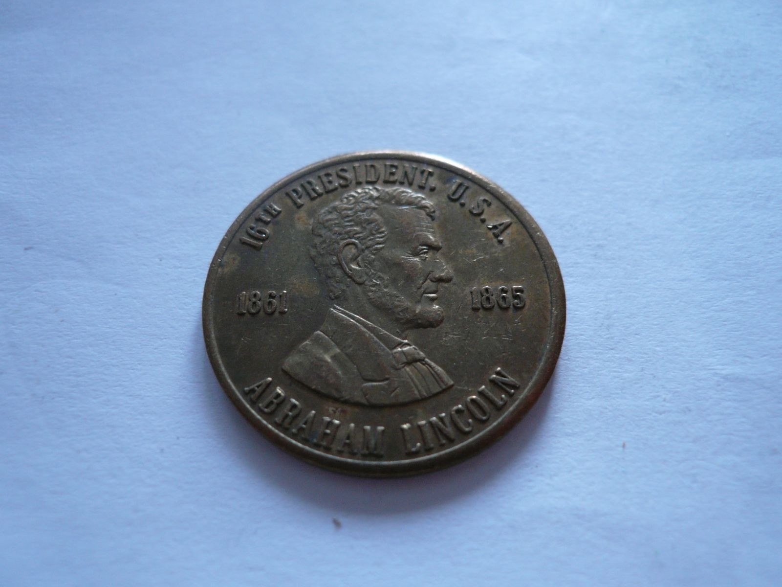 prezident Lincoln, 1861-65, USA