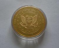 prezident Lincoln, zlaceno, průměr 32mm, USA