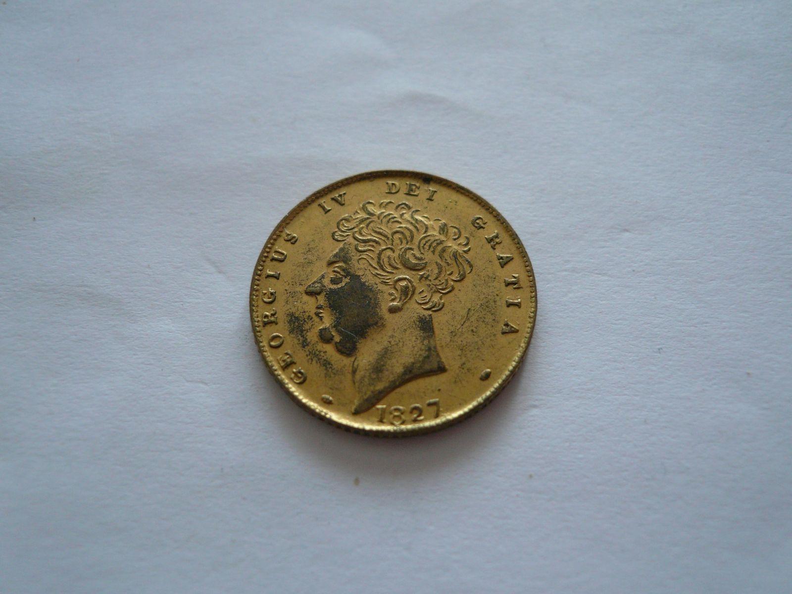 Rex Britania Rium, Jiří V.1827, Anglie