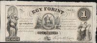 1 Forint, 1852, Uhry (jendostranná)