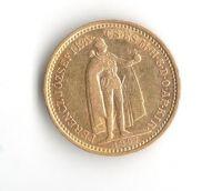 10 Korun(1897-Au 900-3,4g-ražba KB), stav 1/1- dr.hr.