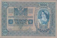 1000K/1902/, stav 2, přetisk DEUTSCHÖSTERREICH