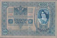 1000K/1902/, stav 3, přetisk DEUTSCHÖSTERREICH