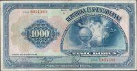 1000Kč/1932/, stav 3+, série A