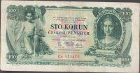 100Kč/1931/, stav 3- sv., séria Ca