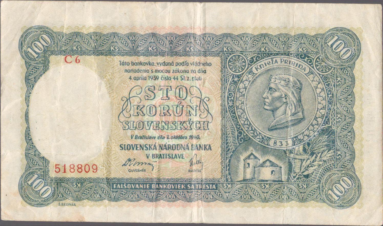 100Ks/1940/, stav 3-, série C 6 - II.vydání