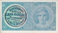 1K/1938-40/, stav 1, série A 031 - ruční přetisk