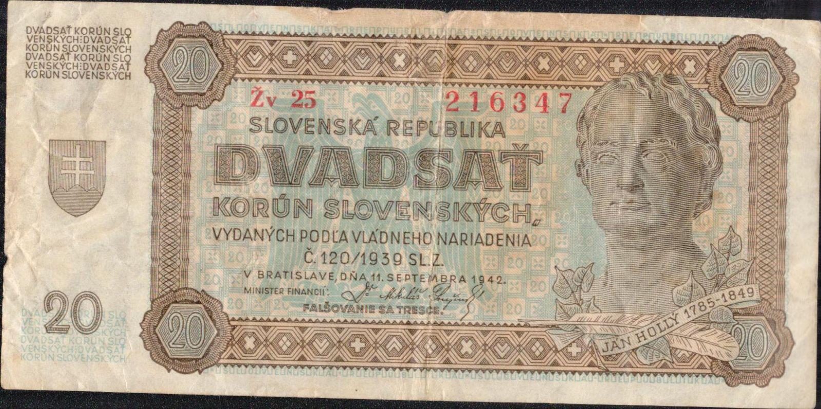 20Ks/1942/, stav 4, série Žv 25
