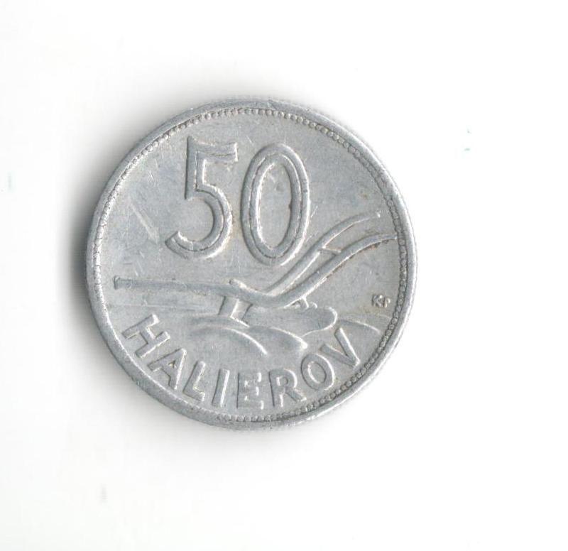 50 Haléř(1943-Al), stav 2+/2+