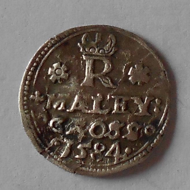 Čechy – Jáchymov Malý Groš 1584 Rudolf II.