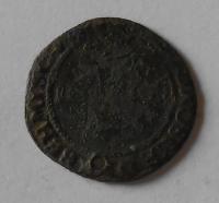 Čechy – Kutná Hora Početní Groš 1606 Rudolf II., dirka