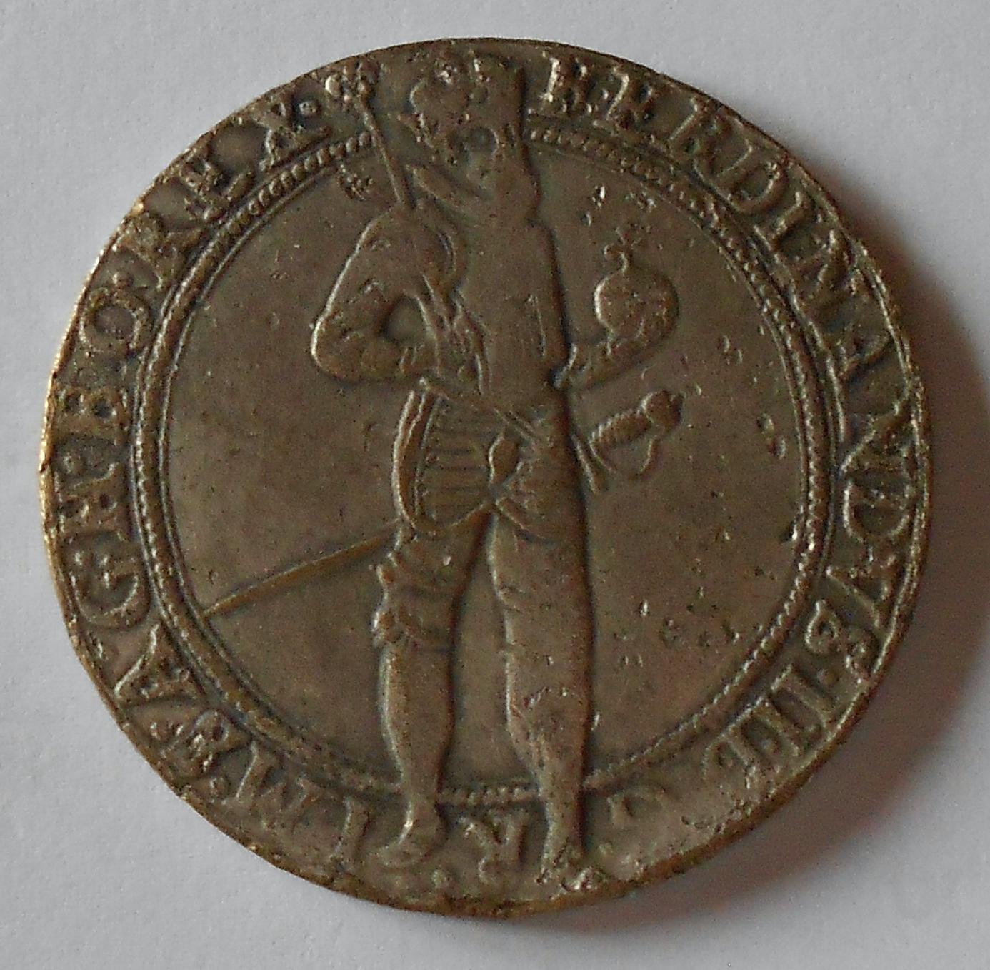 Čechy – Kutná Hora Tolar 1632 Ferdinand II., muzeální kopie