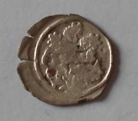 Čechy Peníz se lvem 1453-1457 Ladislav Pohrobek