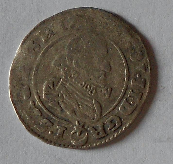 Čechy – Praha 3 Krejcar 1627 Ferdinand II.