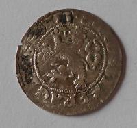 Čechy Pražský Groš 1537 Ferdinand I.