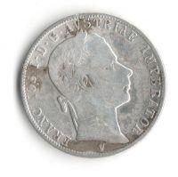 Rakousko - 1 Fl 1862 V