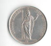 Rakousko 5 Lira 1848 revoluční