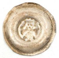 Brakteát, Václav II. (1278-1305), Cach 587, velmi dobře zachovalý