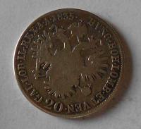 Čechy 20 Krejcar 1835 C Ferdinand V.