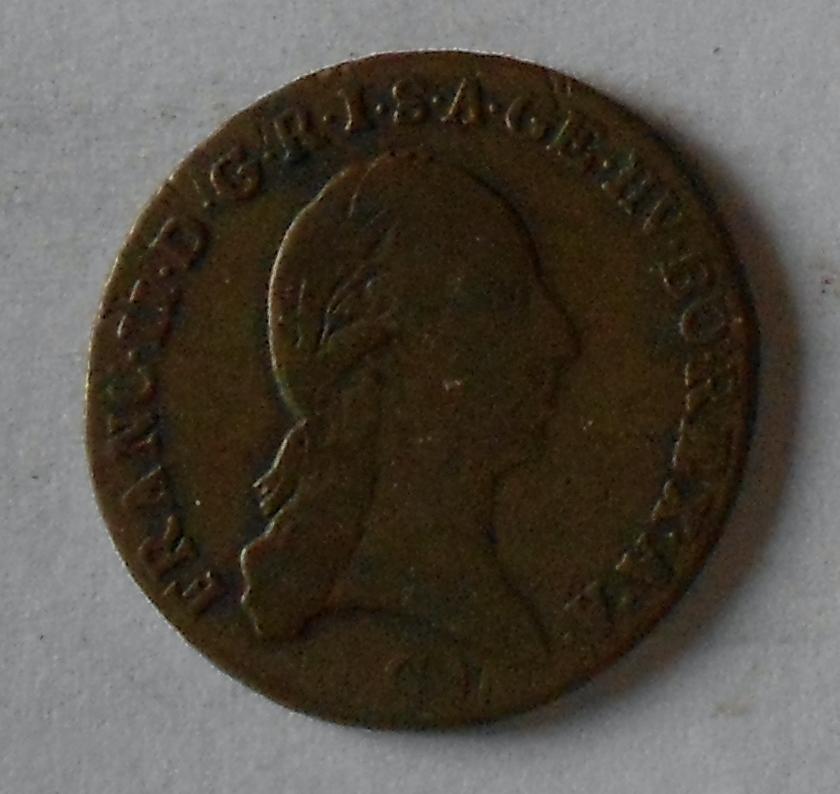 Čechy – Praha 1 Krejcar 1800 C František II.