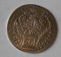 Čechy – Praha 20 Krejcar 1756 C František Lotrinský