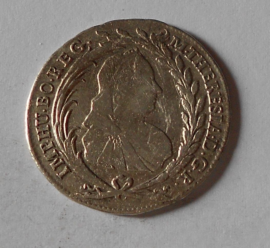 Čechy – Praha 20 Krejcar 1765 Marie Terezie