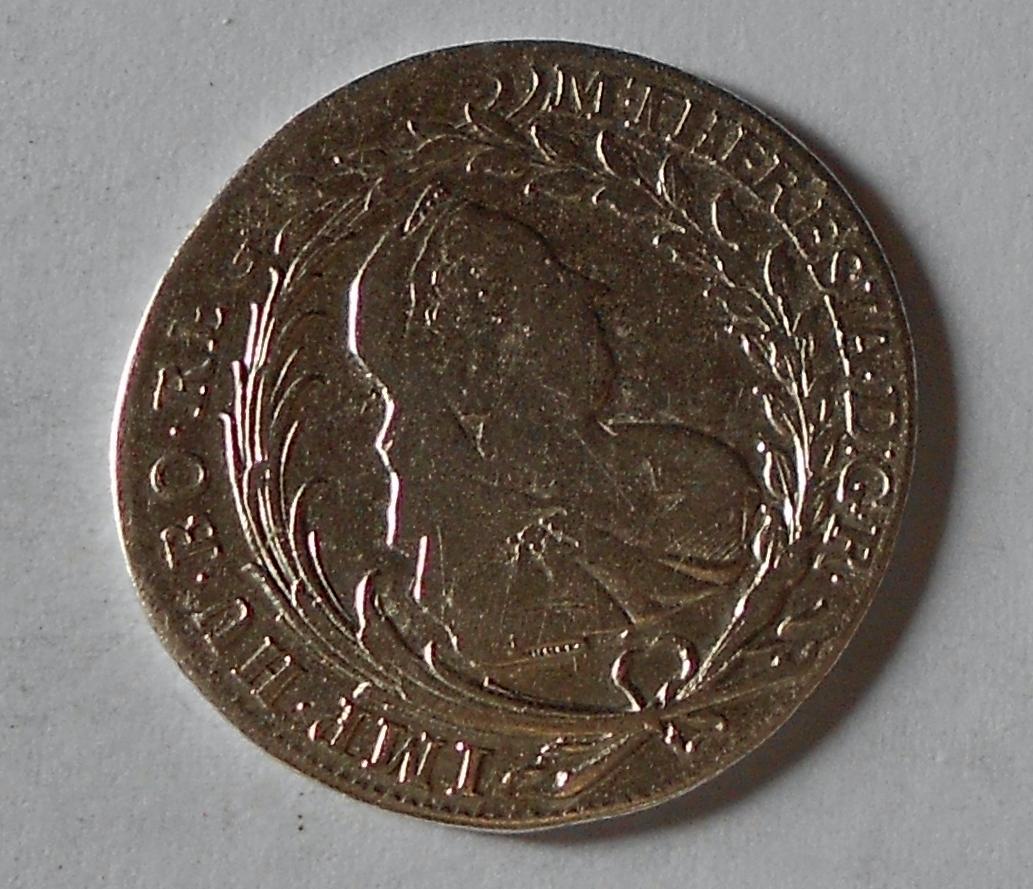 Čechy – Praha 20 Krejcar 1770 Marie Terezie