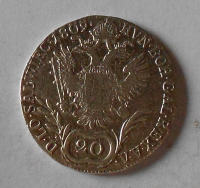 Čechy – Praha 20 Krejcar 1809 C František II.