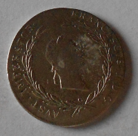 Čechy – Praha 20 Krejcar 1827 C František II.