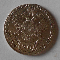 Čechy – Praha 20 Krejcar 1830 C František II.